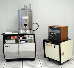 An electron beam evaporation tool.