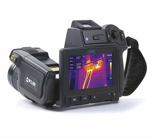 Infrared cameras form an image using infrared radiation, similar to a common camera that forms an image using visible light. It can be used for night vision, security purposes, thermography, and chemical imaging.