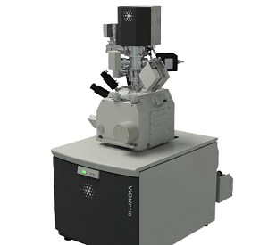 A transmission electron microscope.